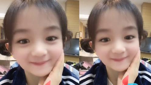 谢娜玩变小孩滤镜超激萌 被网友发现撞脸赵丽颖