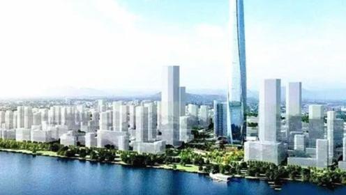 湖北最具代表性的建筑之一,耗资23个亿,建330米超高大厦!