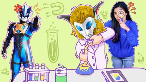 真假奥特之王的徒弟?格罗布奥特曼VS科学怪人的新发明