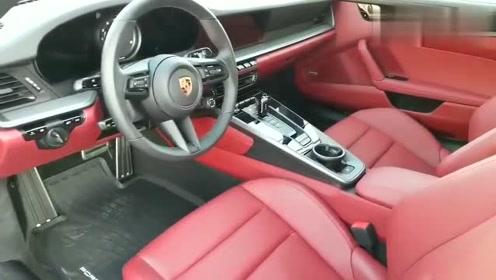 最新款保时捷911CarreraS 尾翼升起时就觉得值了!