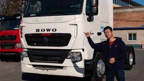 价格比国五贵5万多,能上京牌的国六重汽T7H牵引车开卖了!