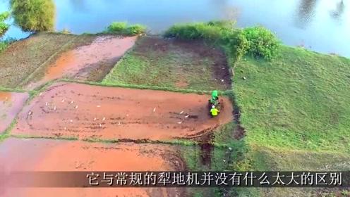 牛人大叔发明卫星犁地机,一天能犁8亩地,成本2000元