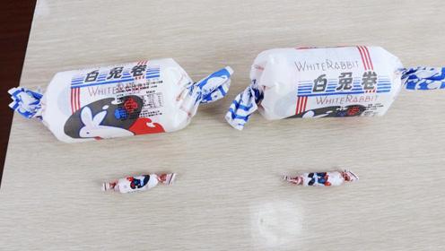 13块8一个的大白兔蛋糕味道怎么样?帮粉丝小伙伴尝尝味道