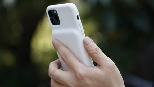 iPhone 11 智能手机壳上手:好的手机壳不能没有快门