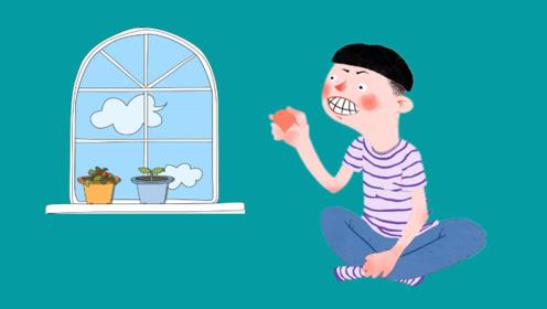 脑筋急转弯:小明拿石头砸玻璃,玻璃为什么没有破?