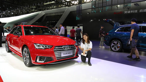 豪华运动中型车 奥迪A4L亮相广州车展
