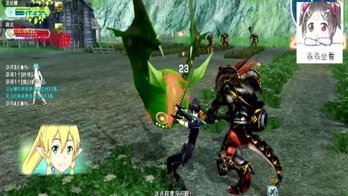 刀剑神域:既然找到任务关卡,我们就打打怪泄愤吧!