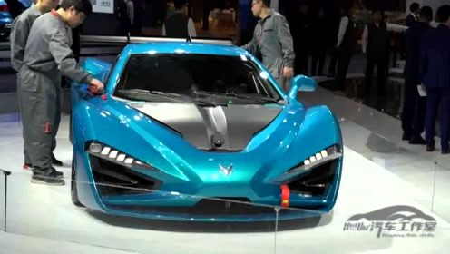 ARCFOX出手不凡,高端新能源车型亮相广州车展