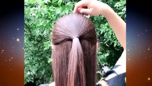 40岁的大妈,想要看起来年轻有魅力,这样的扎发发型是你非常不错的选择哦