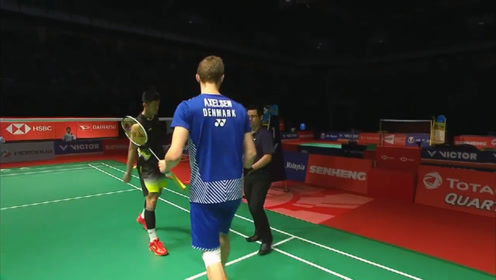 安赛龙 VS 谌龙 2019羽毛球马来西亚大师赛 男单半决赛精彩集锦