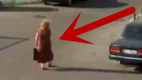 女子走在路上,突然一声巨响,差点命都丢了!
