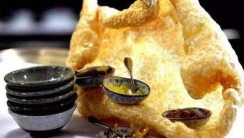 中国过时的炸猪皮,成为米其林高档美食,大跌眼镜