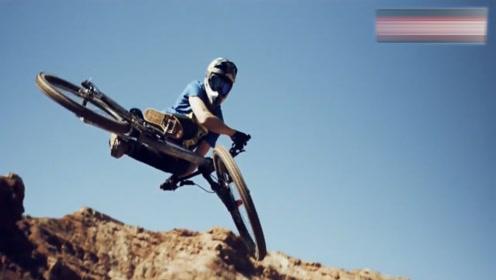 国外大神山地自行车速降视频,不考虑技术和生死,你最想征服那座山?