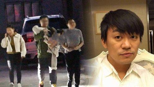 王宝强又有孩子了?被拍到深夜离开公司,孩子被几名男女严加保护