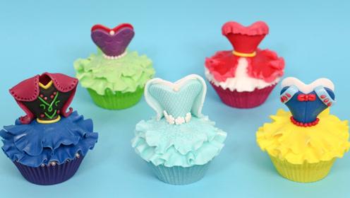 一次看懂5种挤花,秒变身烘焙小能手,再美的公主蛋糕裙都会做!