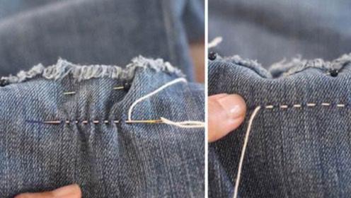 安徽男子热爱补裤裆,靠这手艺一年挣近百万,技术很厉害!
