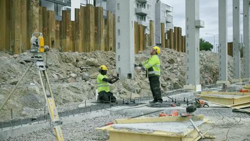 为什么100层高楼底下的承重柱,不会被压垮?答案你万万想不到