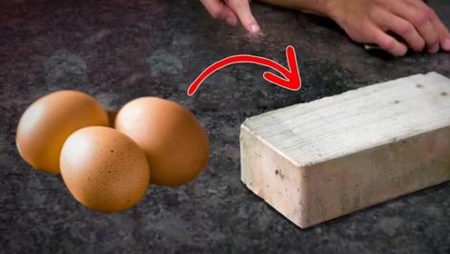 将60个鸡蛋放进火炉中,烧了一晚之后会变成啥样?男子实测给出答案