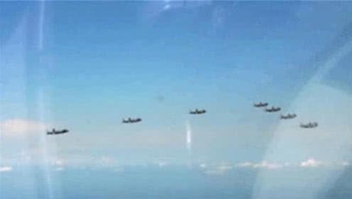 7架歼20一起南下,释放一个重要信号:老美叹息:已今非昔比
