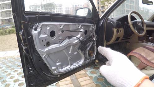 如何自己动手更换车窗升降机,彻底修复车窗升降卡顿、异响!