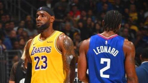伦纳德已经超越詹姆斯?克劳德讽刺:生涯总分还没詹姆斯篮板高!