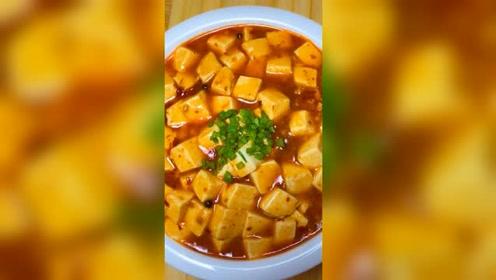 很家常的一道麻婆豆腐,可以学着做一下。