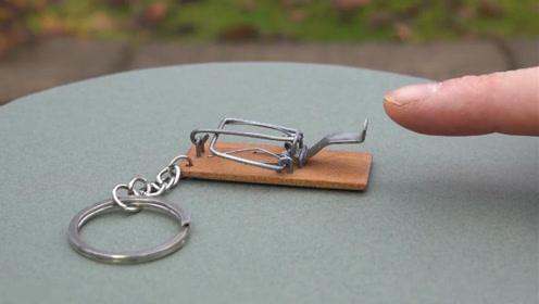 这才是真正的防盗钥匙链,不服可以伸手试试,让你终生难忘!