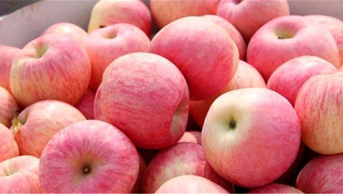 买苹果,切记不是越红越好,记住一个诀窍,挑选的苹果又甜又好吃