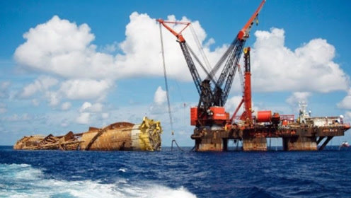 全球最大的海上钻井平台,可实现3658米深海作业,真正的中国重器