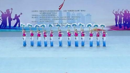 山西体育舞蹈协会《扇情舞韵》全囯广场舞大赛一等奖