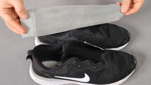 旧丝袜套鞋子上,厉害又省钱,能解决很多大难题