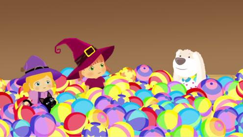 """女孩用""""魔法镜""""变气球,没想到被猫咪恶搞,这下闯大祸了!"""