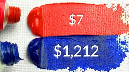 昂贵与廉价的颜料之间真的有差距吗?老外画画测试,差距一目了然