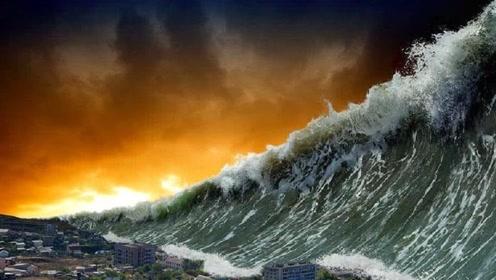 它是最大的一次海啸,浪花碰撞出518米,见过的人一辈子都忘不掉