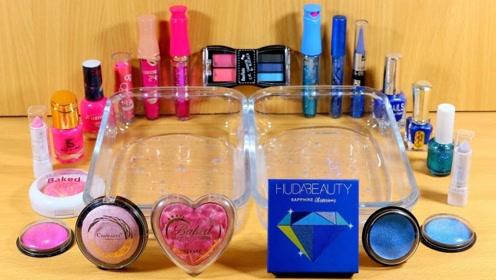 用粉色与蓝色化妆品给透泰染色,无硼砂,你喜欢哪一个