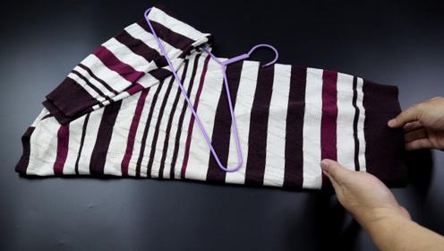 毛衣如何挂才不变形?教你两个小窍门,方法简单又实用,告诉家人