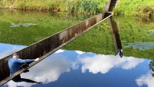 """工人把设计图拿反施工,却建造出""""隐形桥""""!无意造就的世界奇迹"""