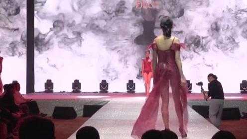 热情似火的红色纱衣,时尚又潮流,东方魅力十足!