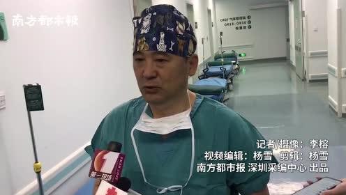深圳首台达芬奇Xi手术机器人开机使用,医生指挥机器手臂手术