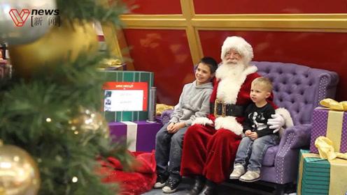 圣诞老人不够用了!实体商场流量担当,你所不了解的高薪高难度