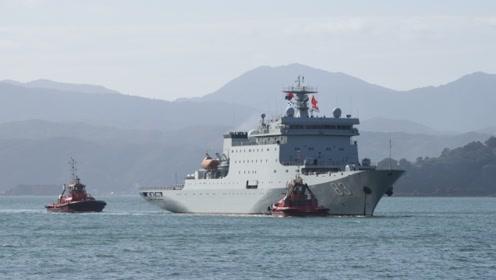 """这艘以""""戚继光""""为名字的中国军舰,作用竟然比航母还重要"""