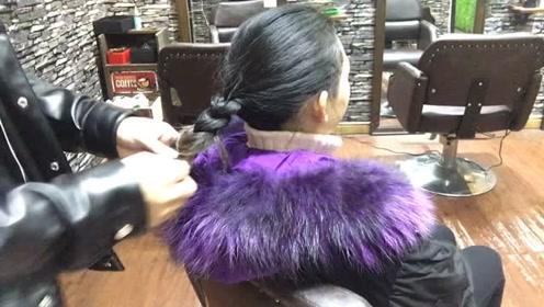 这是我见过最简单的扎头发了,方便大气还不易散!