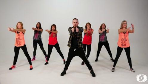 快来练习这样的健身舞,活力爆棚!