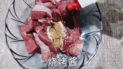 牛肉干烤箱做法,多做点喝酒零食,出游方便携带好吃不贵的美味