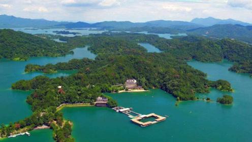 华南第一大湖,水域面积370平方公里,相当于杭州西湖的68倍!