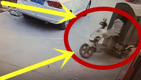 这三轮车竟然可以无人驾驶,真想知道是怎样操作的!
