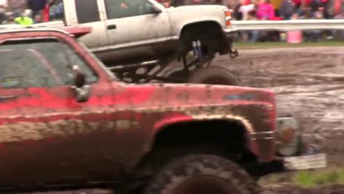 泥浆疯狂雪佛兰巨型卡车