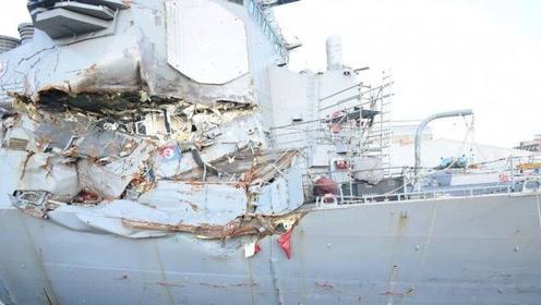 南海传出一声巨响:美舰被航母直刺胸膛,70多名美军官兵全部罹难