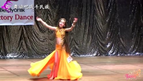 """乌克兰14岁""""长发公主""""蝉联舞蹈大赛冠军,网友:长大之后了不得"""