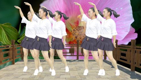DJ广场舞《酒醉的蝴蝶》,美女舞姿优美迷人,美艳性感